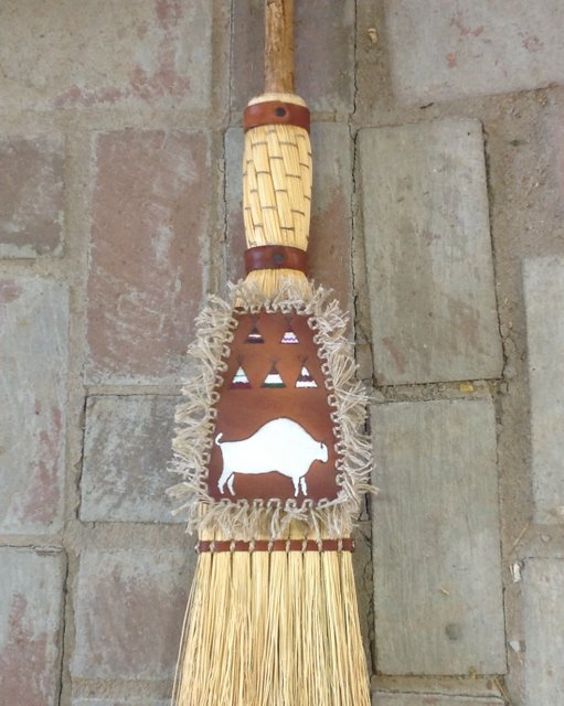 tipi accessories brooms